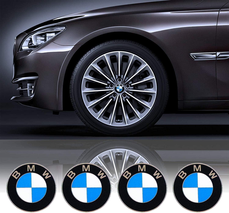 68 mm Emblem Logo Ersatz f/ür alle Modelle BMWs Radkappen Farbe Blau Wei/ß interestingcar 4 ST/ÜCKE Radkappen Emblem Passend f/ür BMW