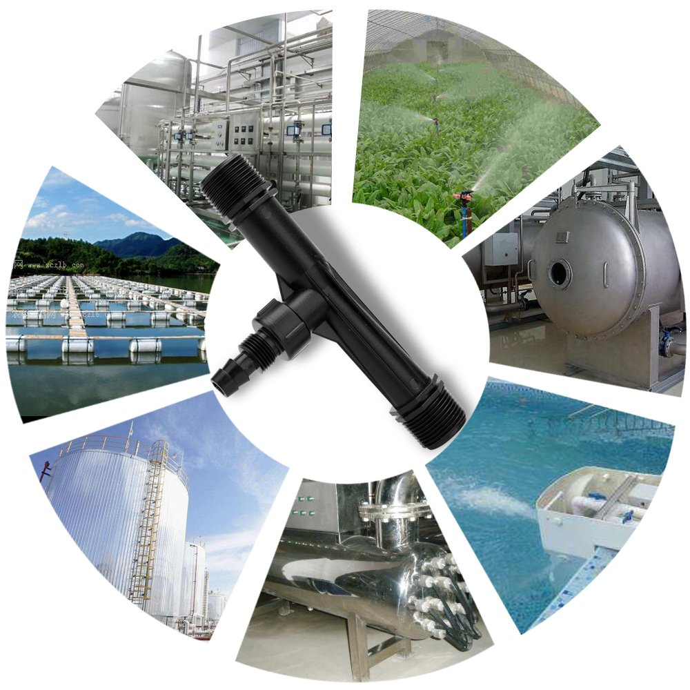 Decdeal Venturi Ejector Air Water Mixed Injector Agriculture and Industrial Accessories Chemical Pipeline Irrigation Drainage Equipment