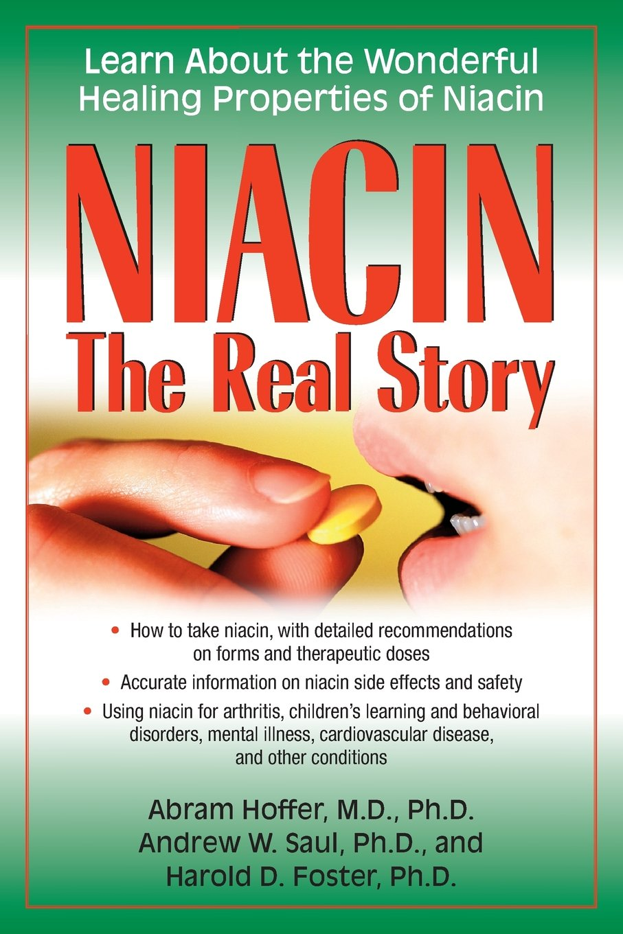 Niacin Story Wonderful Healing Properties product image