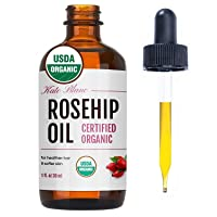 Rosehip Seed Oil by Kate Blanc. USDA Certified Organic, 100% Pure, Cold Pressed,...