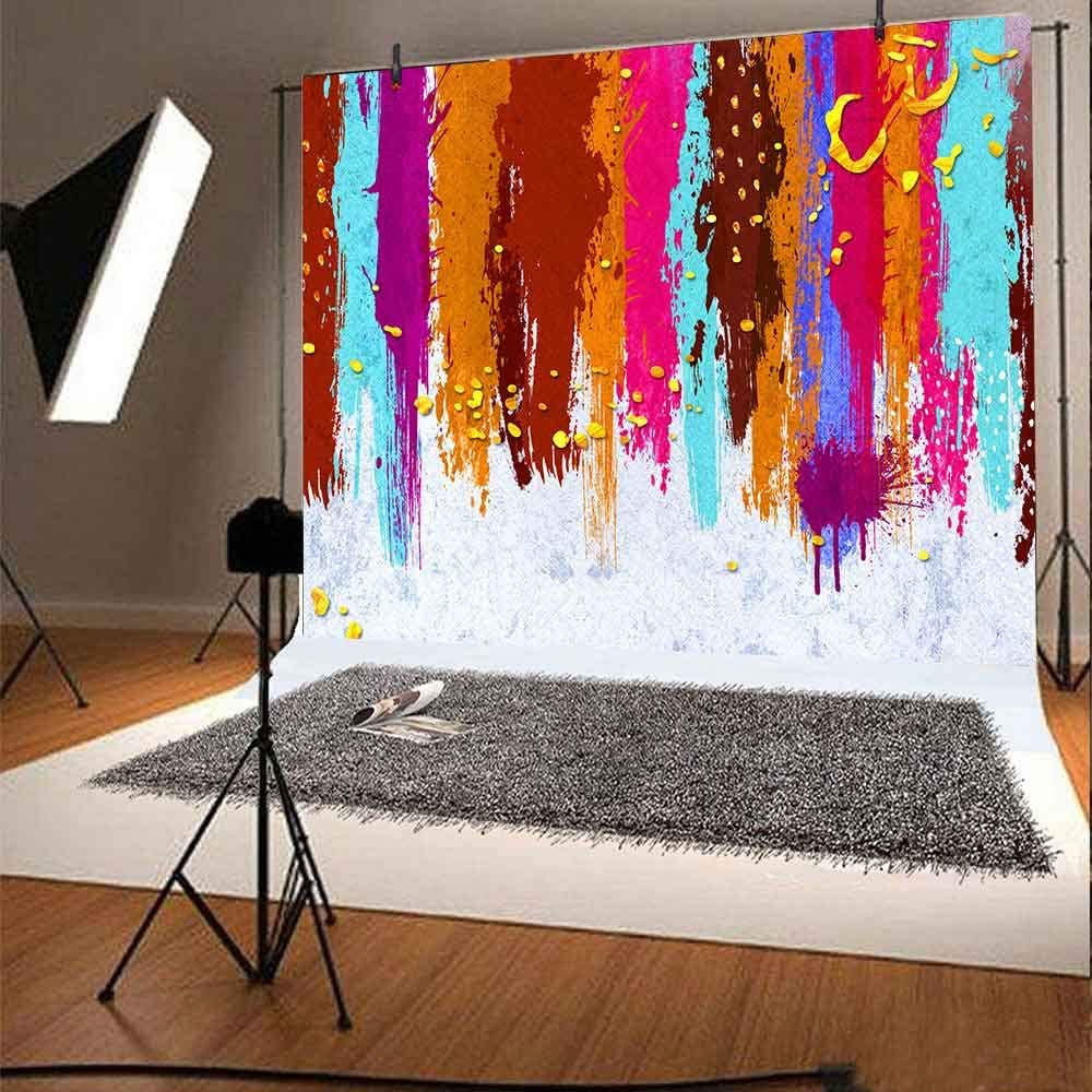 Colorful Inkjet Graffiti Backdrop FHZON 10x7ft Photography Background Theme Party Wallpaper Photo Booth Props ZYFH0228