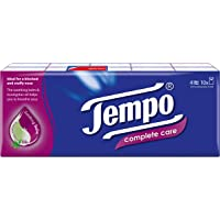 Tempo Pocket Handkerchief Complete Care 4-ply (10 packs)