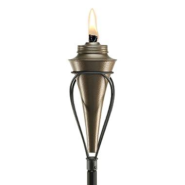 TIKI Brand 65-Inch Kiawah Metal Torch, Copper