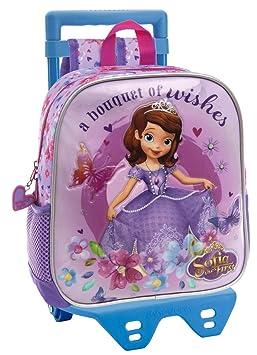 Walt Disney-Sac à dos pour la crèche et la maternelle avec chariot Sofia e62308b94c56