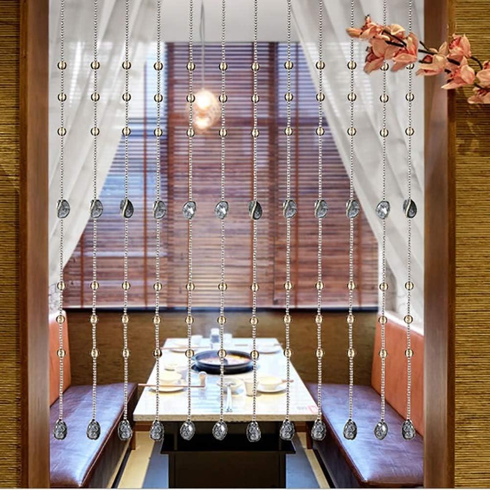 GuoWei-Cortinas de Cuentas Cerámica y Cristal Vaso Perlas Puerta Cortina Decorativo Cuerdas Colgante Personalizable (Tamaño : 20 strings-80x80cm): Amazon.es: Hogar