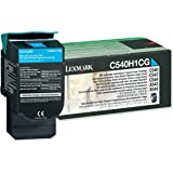 Lexmark C540H1CG Return High Capacity Cyan Toner Cartridge