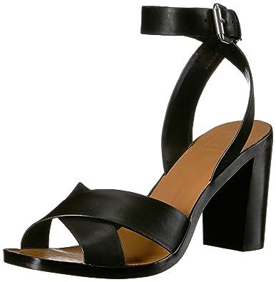 3e6e57184a Dolce Vita Women's NALA Sandal, Black Leather, ...