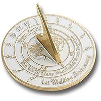 Reloj de sol inglés hecho a mano