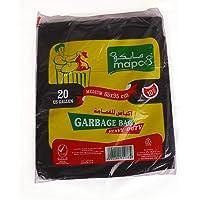 Hotpack Heavy Duty Black Garbage Bags 65CMX95CM -10 Pcs