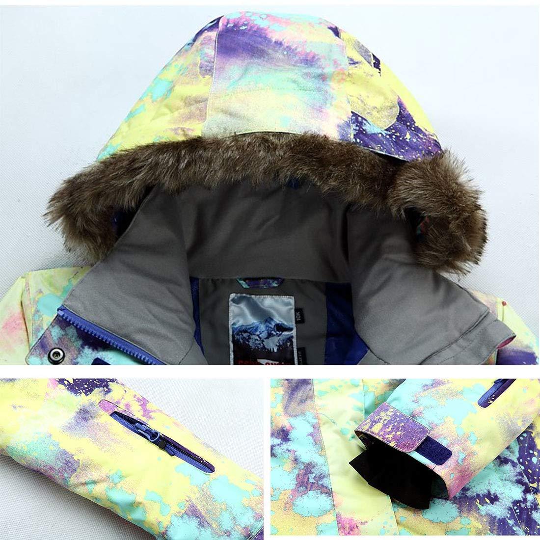 APTRO Womens High-Tech Fashion Ski Jacket Mountain Snowboard Rain Jacket