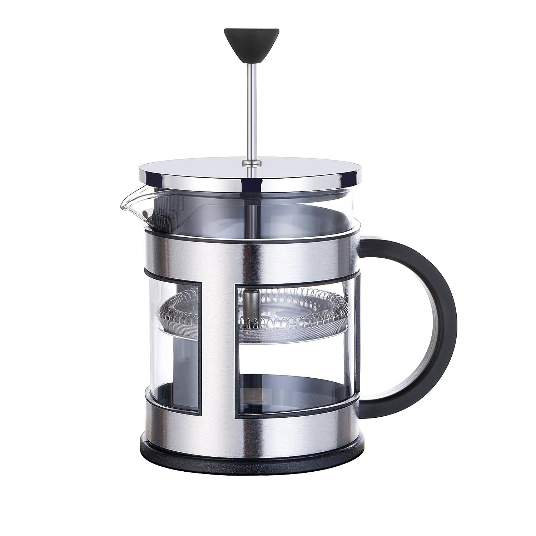 GA Homefavor French Coffee Press Té y café, 600 ml / 20 oz, con filtro de malla de acero inoxidable adicional: Amazon.es: Hogar