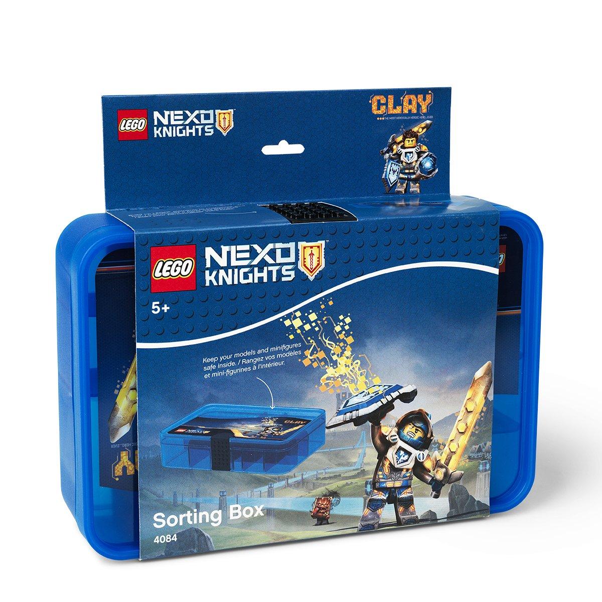 LEGO 4084 Caja de Almacenamiento Friends, Contenedor con Compartimentos, Morado translúcido, Lavender, 17.8 x 26.7 x 6.6 cm: Amazon.es: Hogar