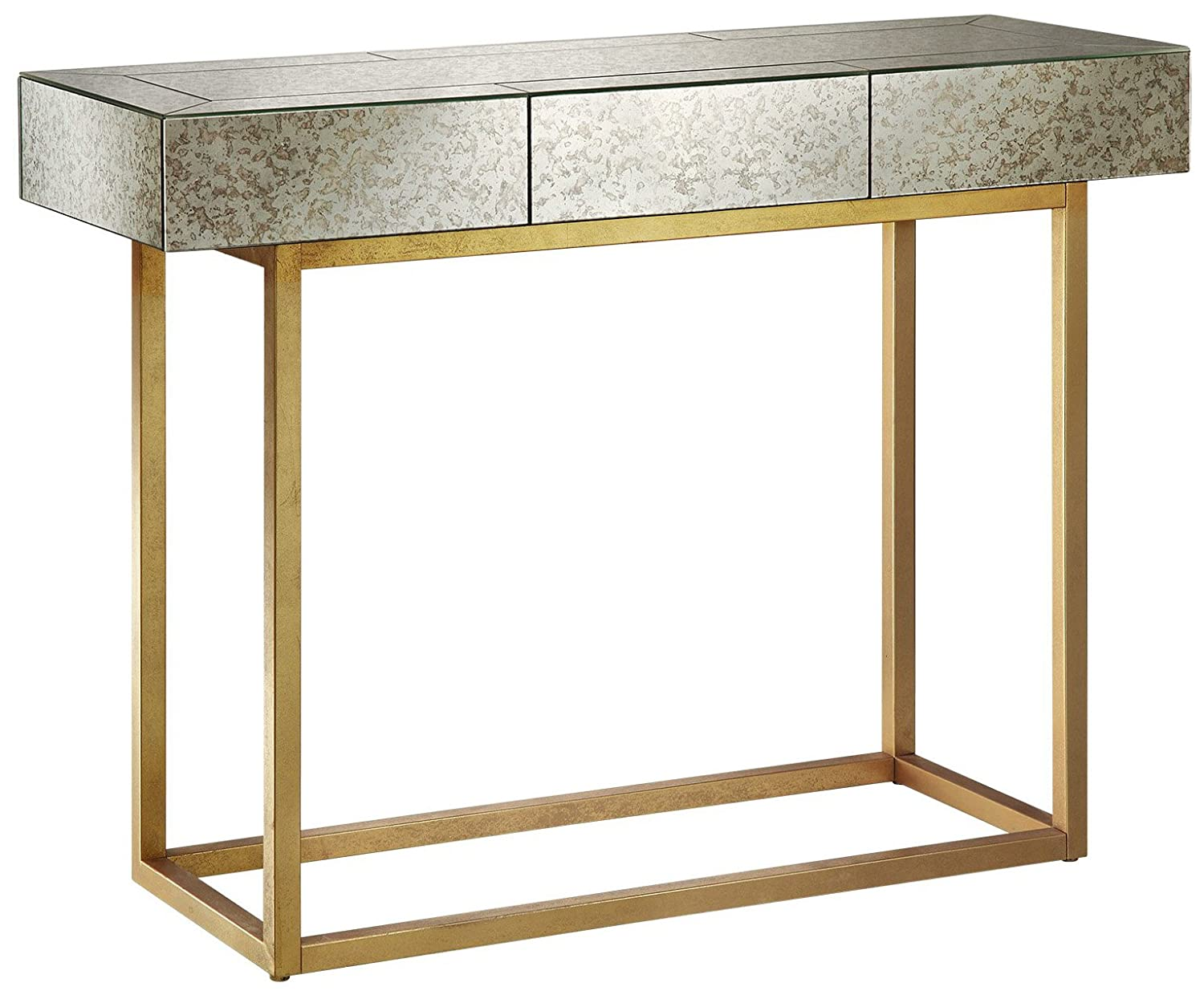 Amazon Com Myla Console Table Mirror Gold See Below Kitchen Dining