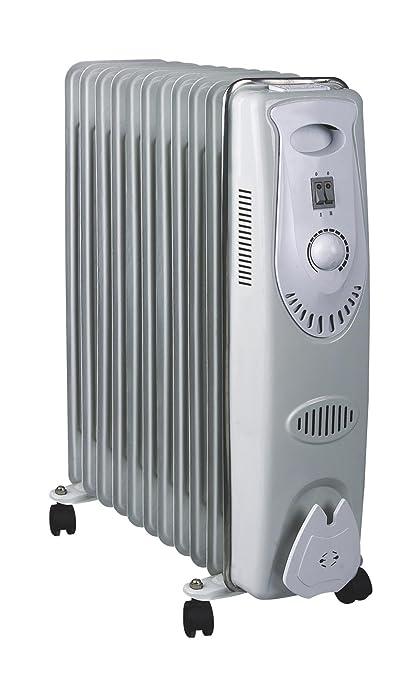MT - Radiador aceite. 11 elementos. termostato ajustable. sistema automatico de proteccion por