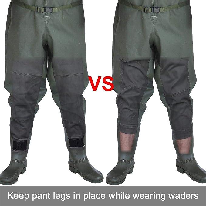 1 Paar Einstellbare Neopren Knöchel Pant Strumpfbänder Für Jagd