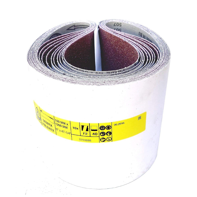 150 x 1200 mm K/örnung: 100 5 St/ück Klingspor LS 307 X Schleifband