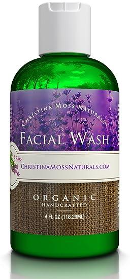All Natural Organic Face Wash