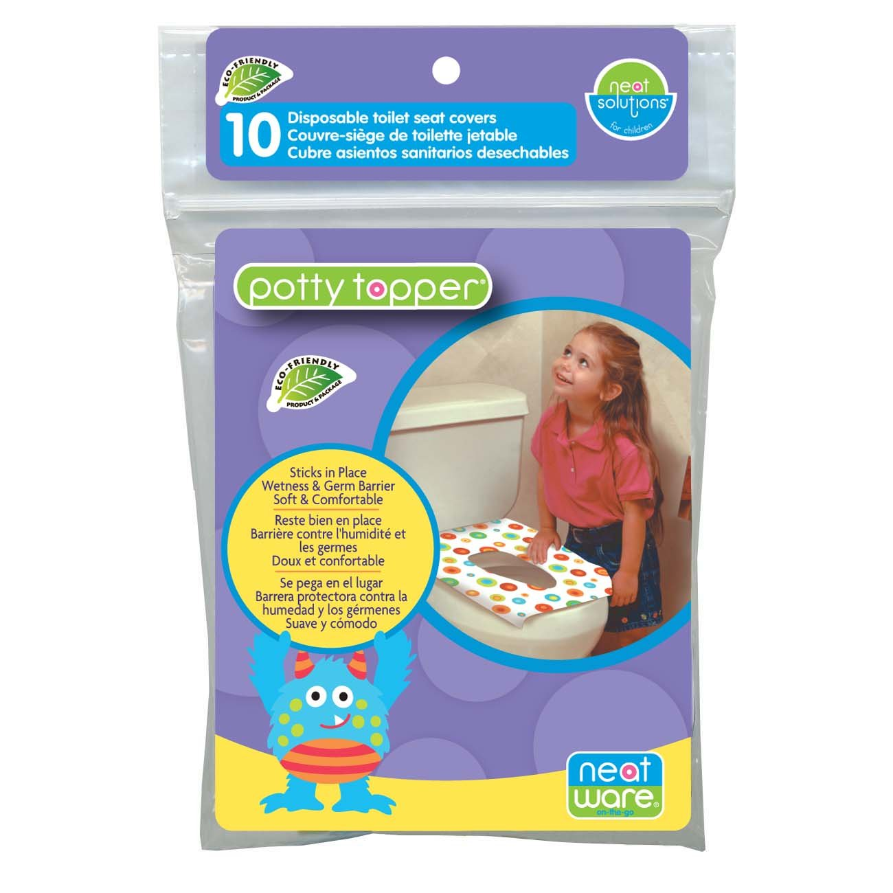 Amazon.com : Neat Solutions Neat-Ware Potty Topper, 40-Count : Toilet Training Potties : Baby