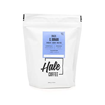 96445494d6 Amazon.com : FREE TRADE COFFEE HALE BRAZIL EL DORADO BLEND 12OZ BAG ...
