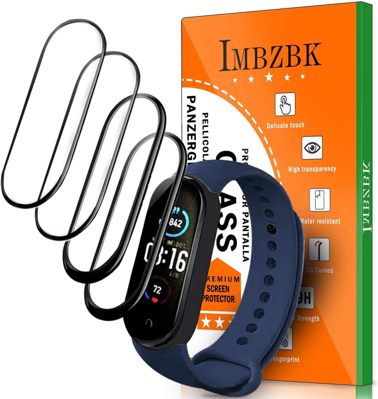 4 protectores de pantalla para reloj  Xiaomi Mi Band 5
