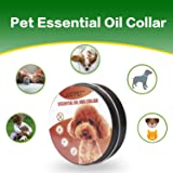 OKPET Flea Tick Prevention for Dogs - 12 Month Protection Collar - Essential Oil, Allergy Free Tick Control - Adjustable and Waterproof Flea Tick Collar