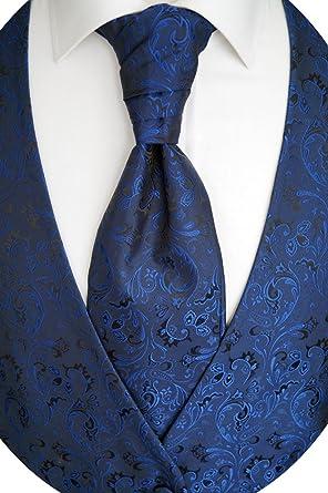 Einstecktuch S/ören Svensson Hochzeitsweste mit Plastron Krawatte Tailliert Nr.17.7