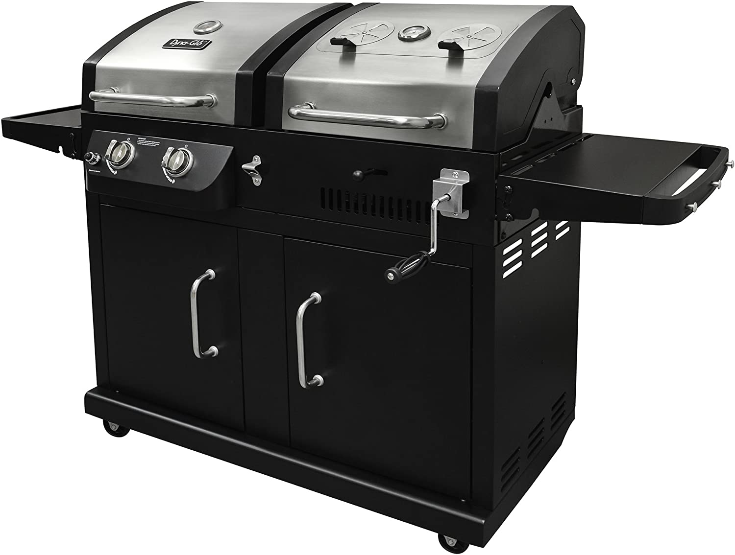 What is the best gas and charcoal combo grill?