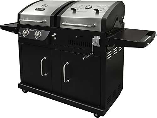 Dyna-Glo DGB730SNB-D Dual Fuel Combination Natural Gas and Charcoal Grill