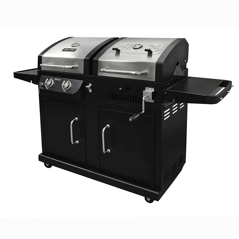 amazon com dyna glo dgb730snb d dual fuel grill freestanding