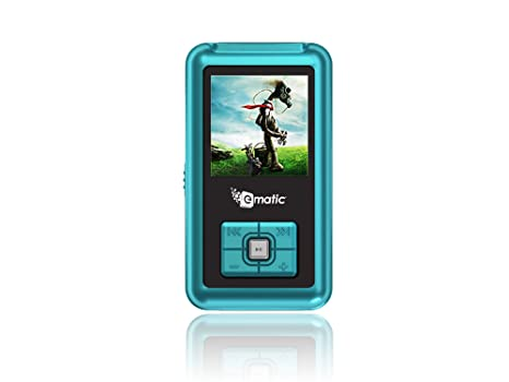 amazon com mp3 player ematic 2gb video blue mp3 player with fm rh amazon com Ematic MP3 Player Instructions MP3 Players at Walmart Price