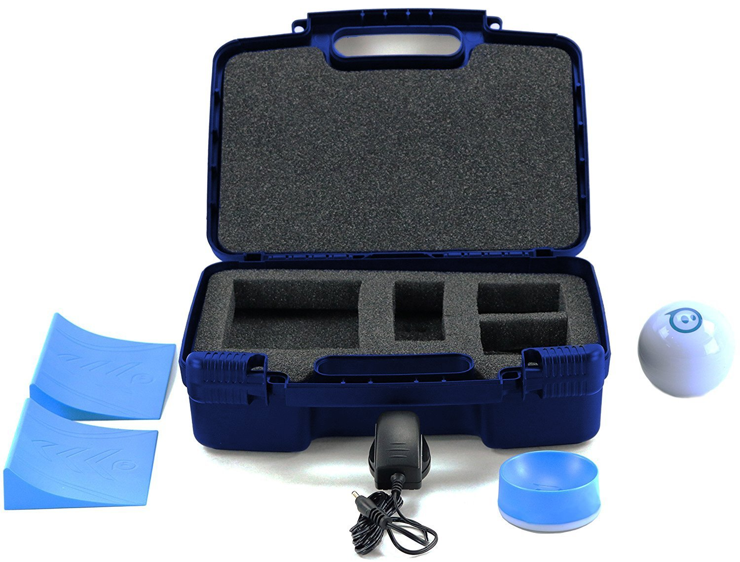 Life Made Better Storage Organizer - Compatible with Sphero 2.0 The App-Controlled Robot Ball and Accessories- Durable Carrying Case - Blue by Life Made Better (Image #2)