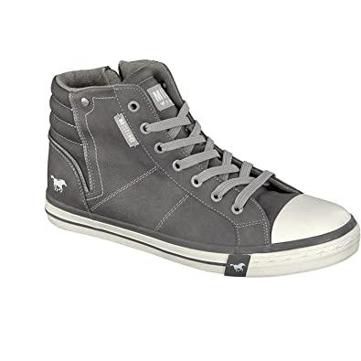 Mens 4096-501-2 Hi-Top Trainers Mustang