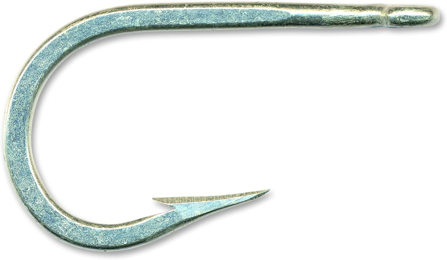 Mustad 7698BD Big Game Sea Mate 2 Extra Strong Forged Duratin Hook with Brazed Ring (10-Pack)