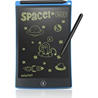 NEWYES 8.5 Inch Doodle Pad LCD Writing Tablet Kitchen Fridge Memo Board Toys for Kids(Blue