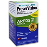 Bausch and Lomb PreserVision AREDS 2 Formula Eye Vitamin and Mineral Supplement - 180 Softgels by Bausch & Lomb