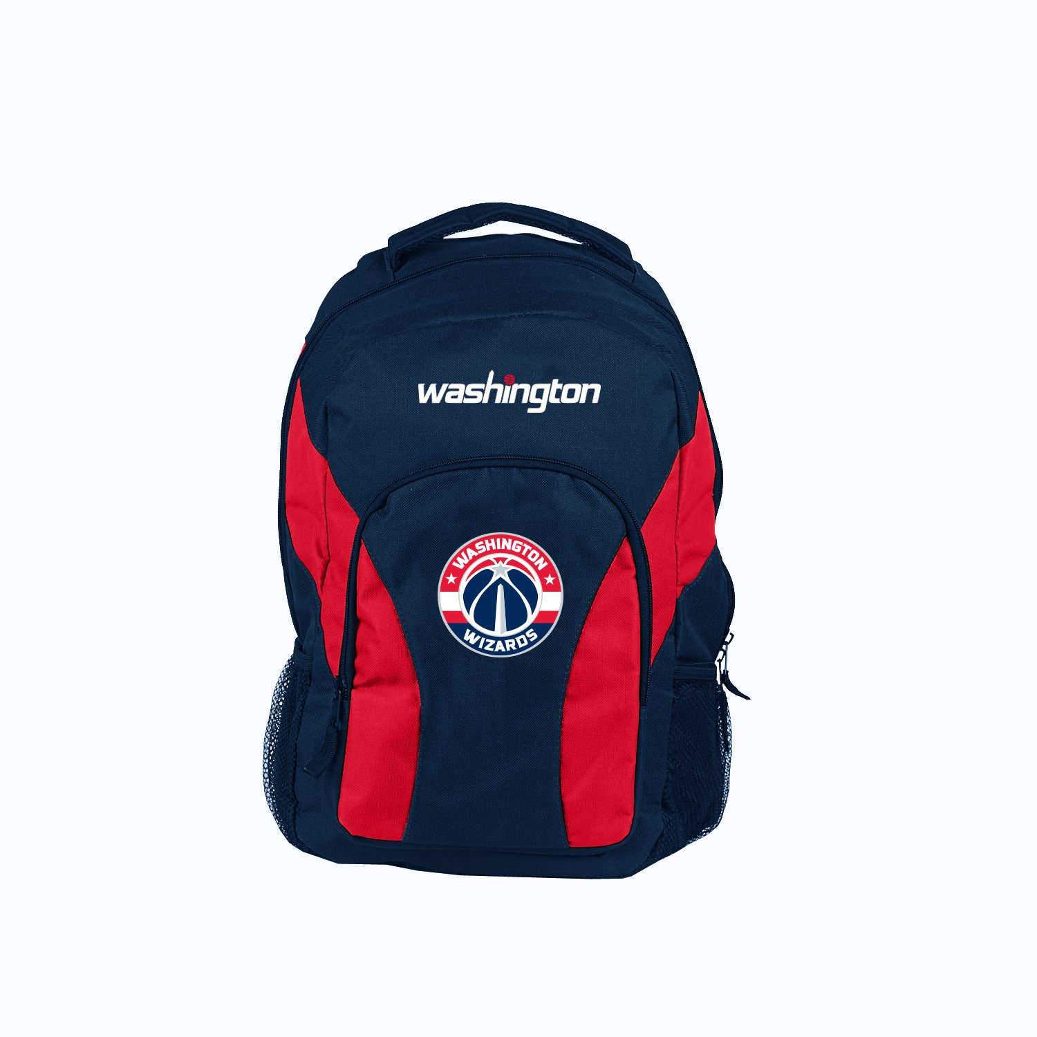 18 Black Officially Licensed NBA Washington Wizards DraftDay Backpack