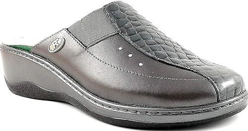 nuova versione adatto a uomini/donne scarpe autunnali Robert by Florance C3245 Piombo Perla Ciabatte Donna Chiuse ...