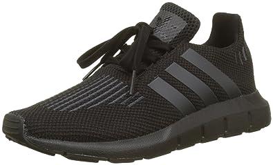adidas Unisex Kids Swift Run Trainers, Black (Core Black/Utility Black/