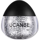 UCANBE Snot Glitter Gel for Body and Face, 0.63 fl. Oz (silver)