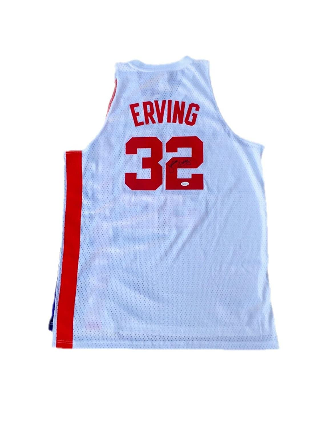 check out 26a72 55391 Autographed Julius Erving Jersey - Away ABA - JSA Certified ...