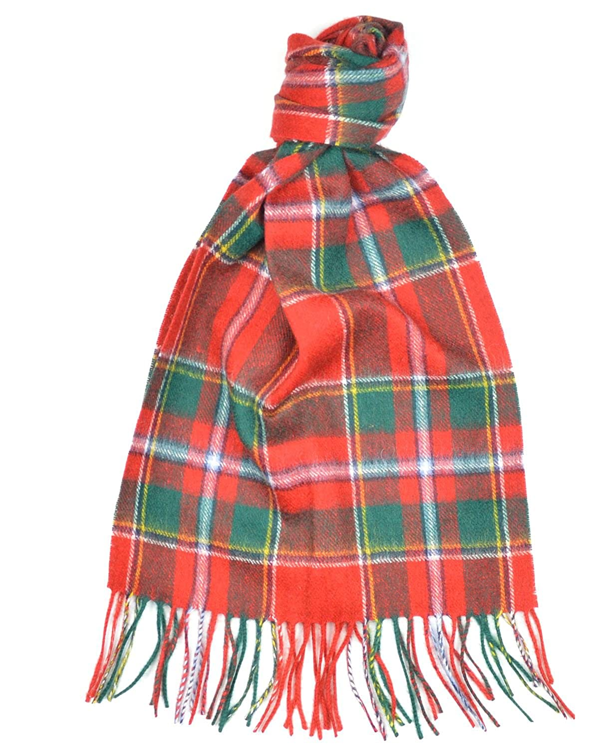 Lambswool Scottish Clan Scarf Drummond Of Perth Modern Tartan