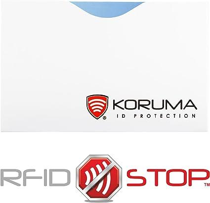 d/ébit bloquant les signaux RFID protection portefeuille Titulaire /Étui prot/ége des cartes de cr/édit NFC