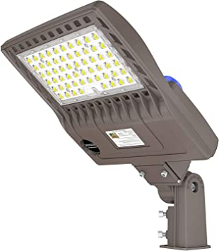 150W LED DUST TO DAWN LIGHT 19500Lm Photocell sensor built-in UL DLC LISTED