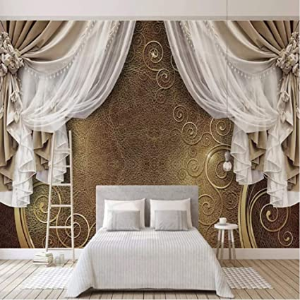 Amazon.com: hwhz Custom Mural Wallpaper 3D European Style ...