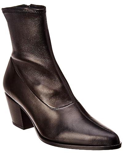 fa14760c6ef Vince Women's Hayek Black Stretch Nappa Leather 5 ...