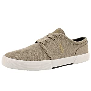 Polo by Ralph Lauren Men's Faxon Low Lace Up Fashion Sneaker