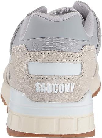 Saucony Shadow 5000 Grey/White, Zapatillas de Atletismo para Hombre