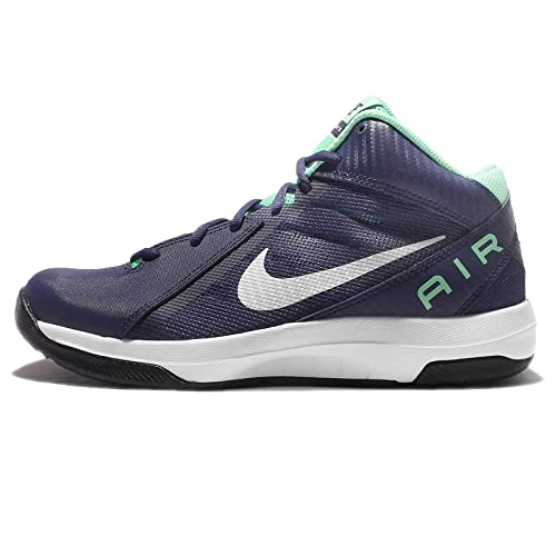 d01799c9412 Nike The Air Overplay IX 9 Navy Green White Men Basketball Shoes  Buy  Online at Low Prices in India - Amazon.in