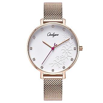 Watches Just Women Watches Woman Quartz Dress Watches Ladies Bracelet Fashion Watch Delicate Leather Watches Steel Mesh Belt Wristwatches