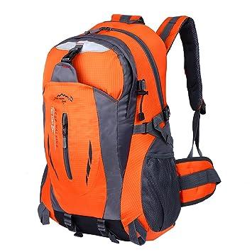 9a2b8943a368b Hwjianfeng Damen Herren Trekkingrucksack Wanderrucksack Reisenrucksack  Camping Backpack Daypack Rucksack Outdoor Sportrucksack 30L